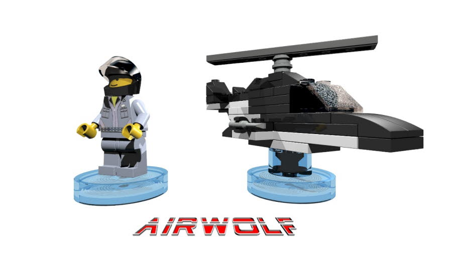 Stringfellow Hawke & Airwolf