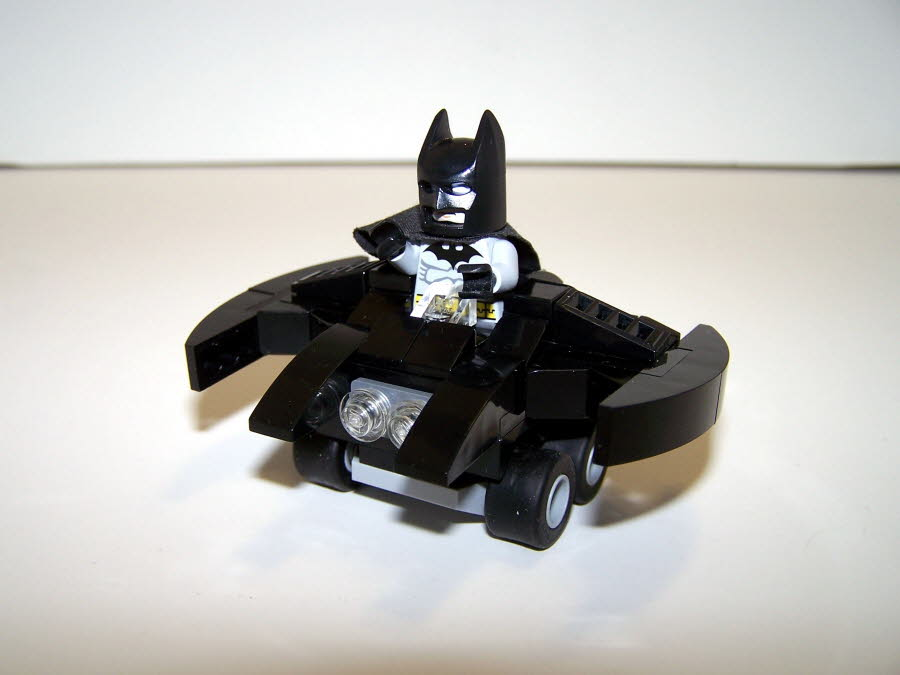Batwing Mighty Micro Front With Batman