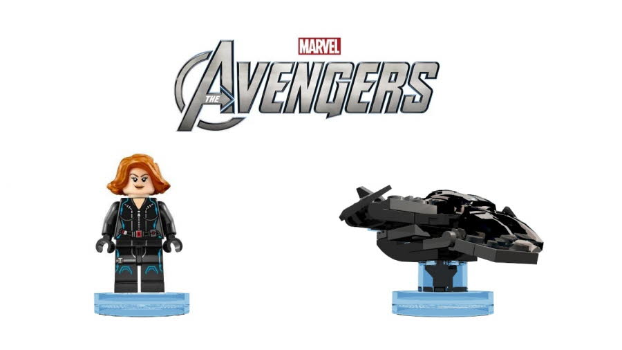 Black Widow & Quinjet