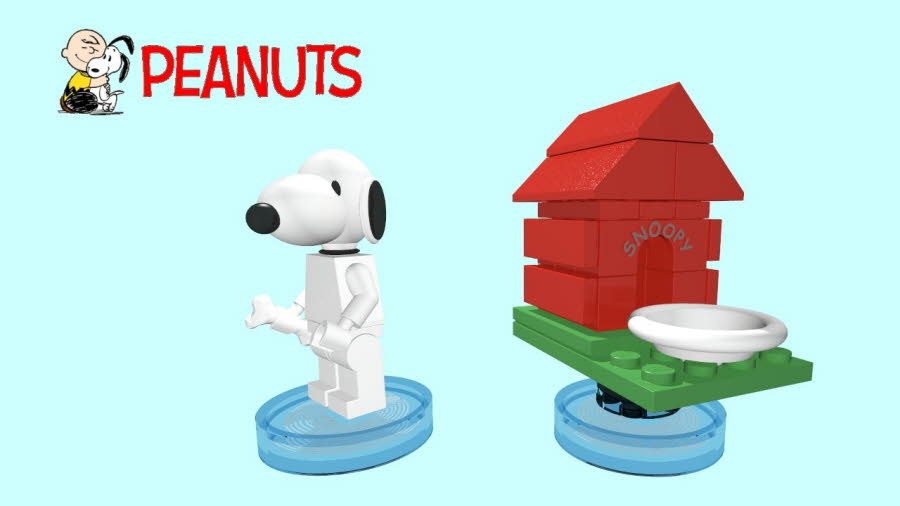 Snoopy & Doghouse