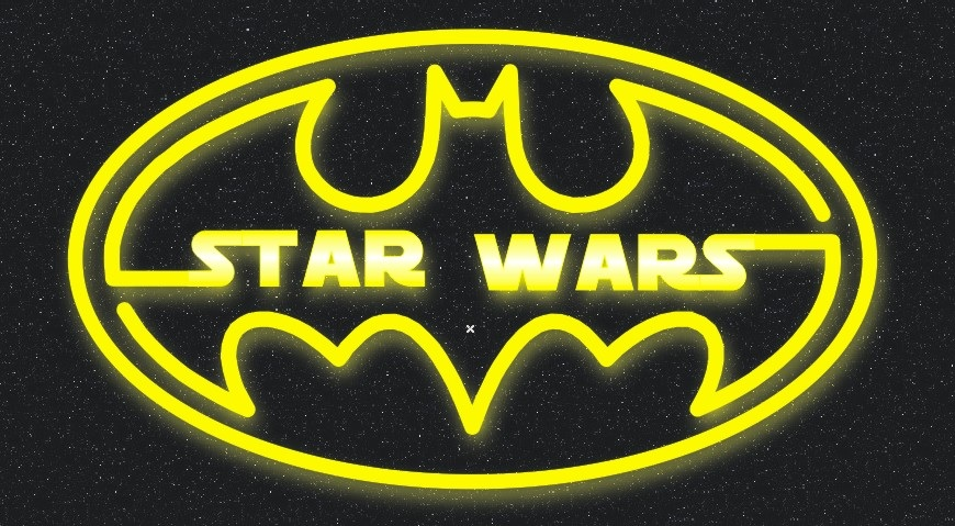 Star Wars Batman Logo Final