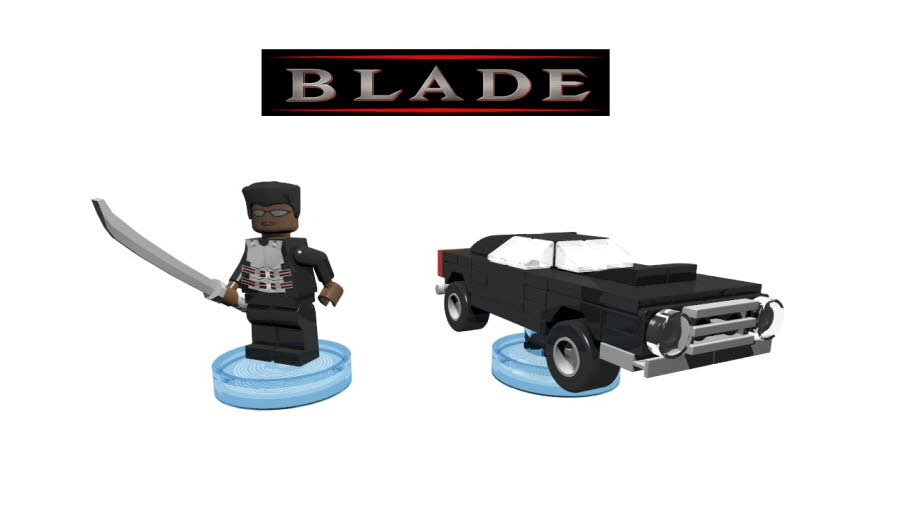 Blade & Dodge Charger