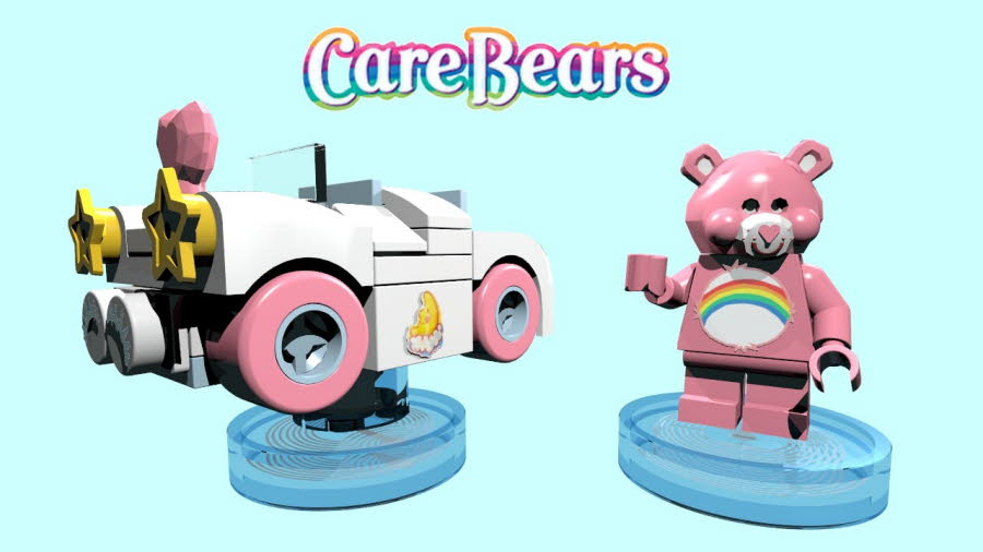 Cheer Bear & Cloudmobile