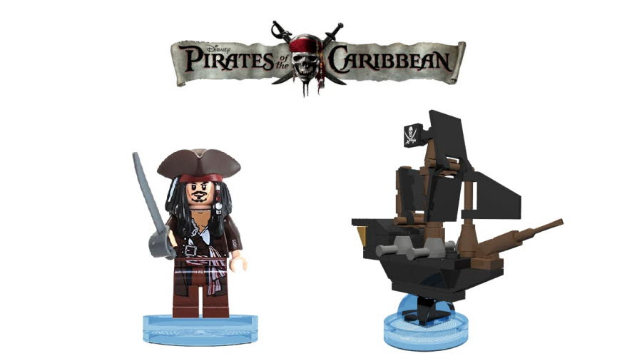 Captain Jack Sparrow & The Black Pearl