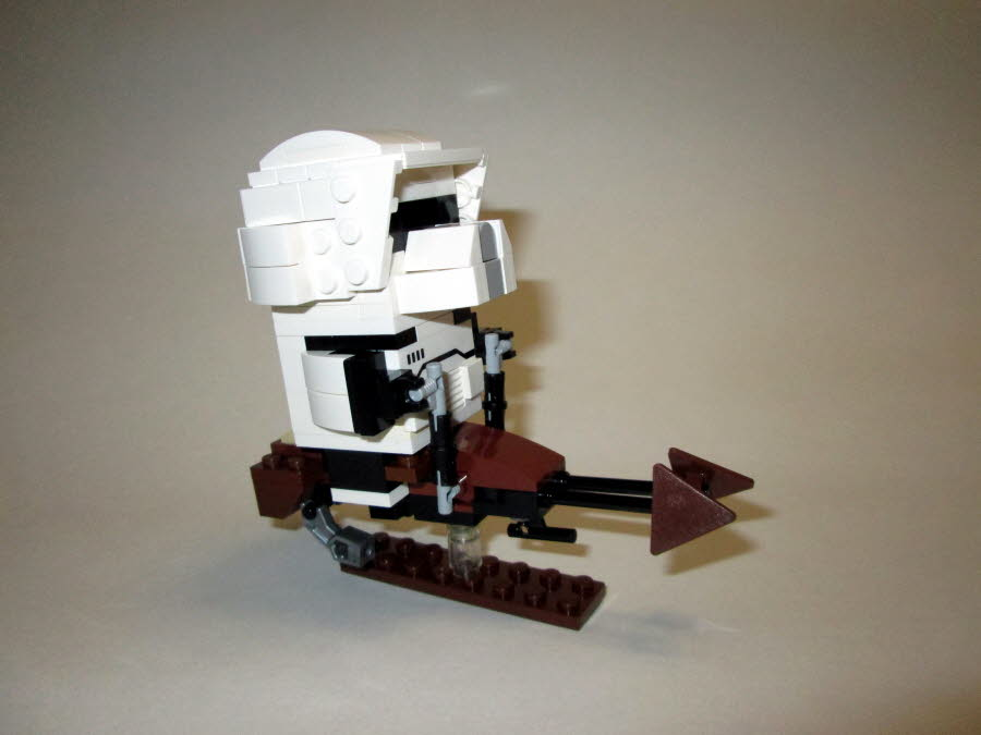 Scout Trooper & Speeder Bike  Side